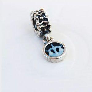 Pandora Retired Silver Libra Charm
